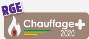 Label CHAUFFAGE +